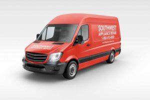 Southwest-Appliance-Repair-Work-Van-Angled